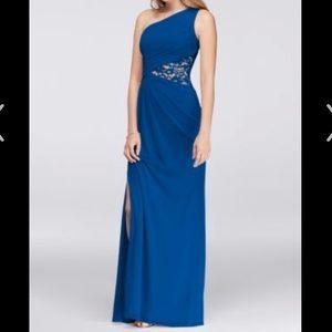 David Bridal's Royal Blue Formal Dress